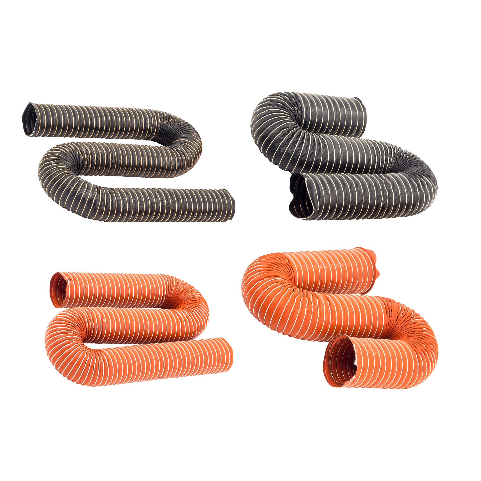 JJC Single Layer Flexible Brake//Air Neoprene Ducting Hose 25mm Bore 1 Metre