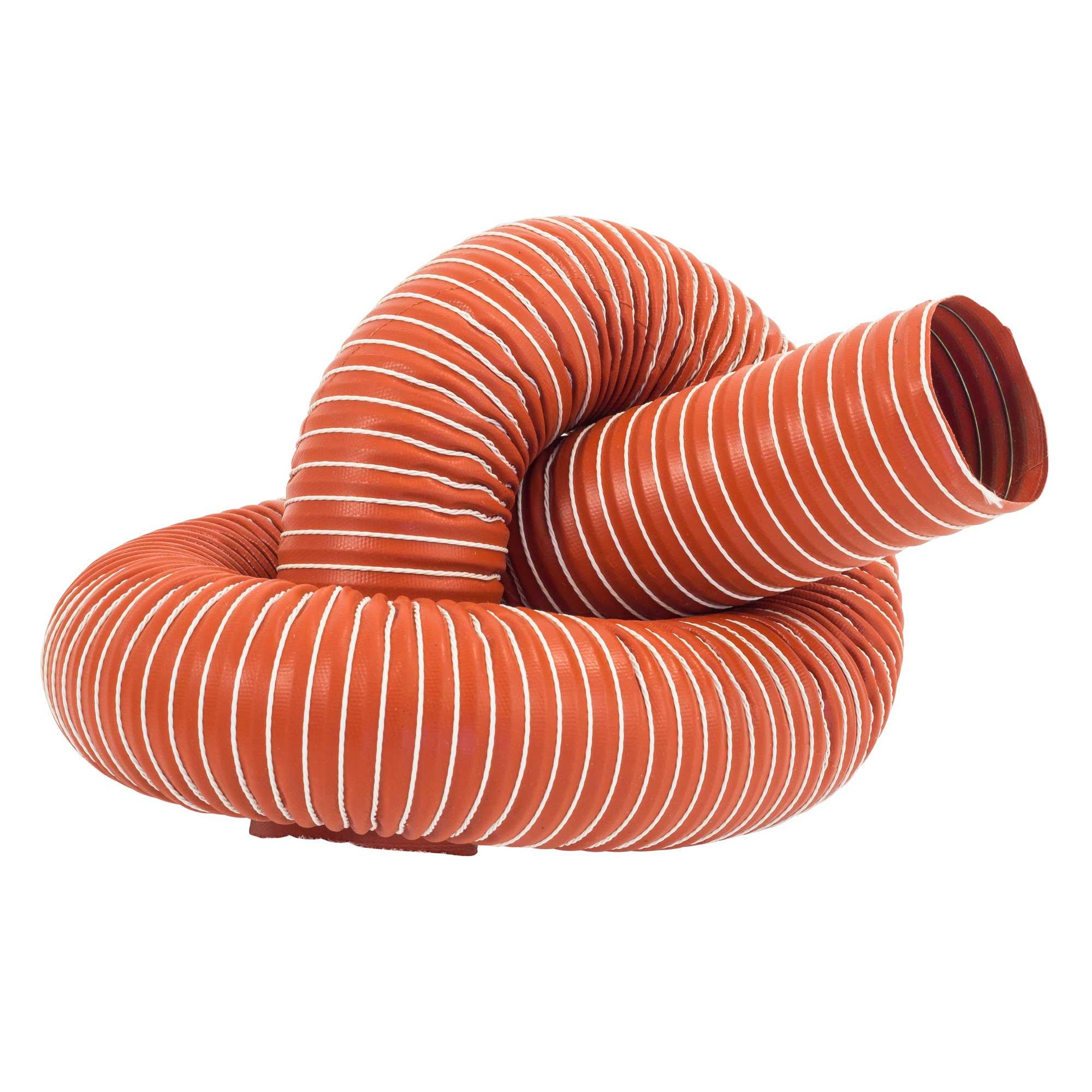 JJC Single Layer Flexible Brake Air Silicone Ducting Hi Temp Hose 57mm Bore 1m