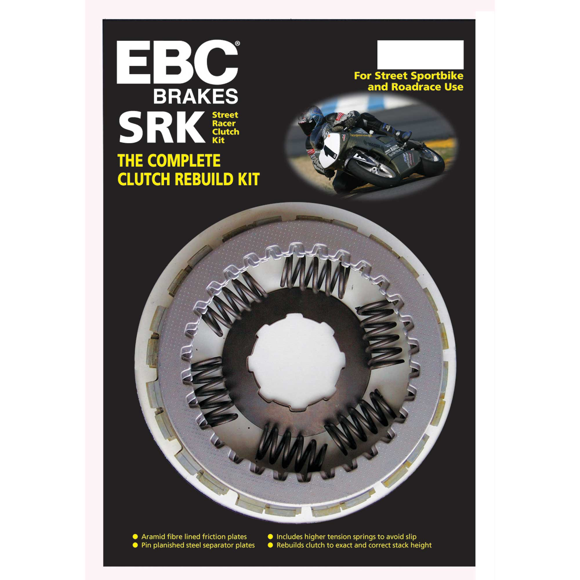 Yamaha RAPTOR 660 2001–2005 EBC Clutch Kit